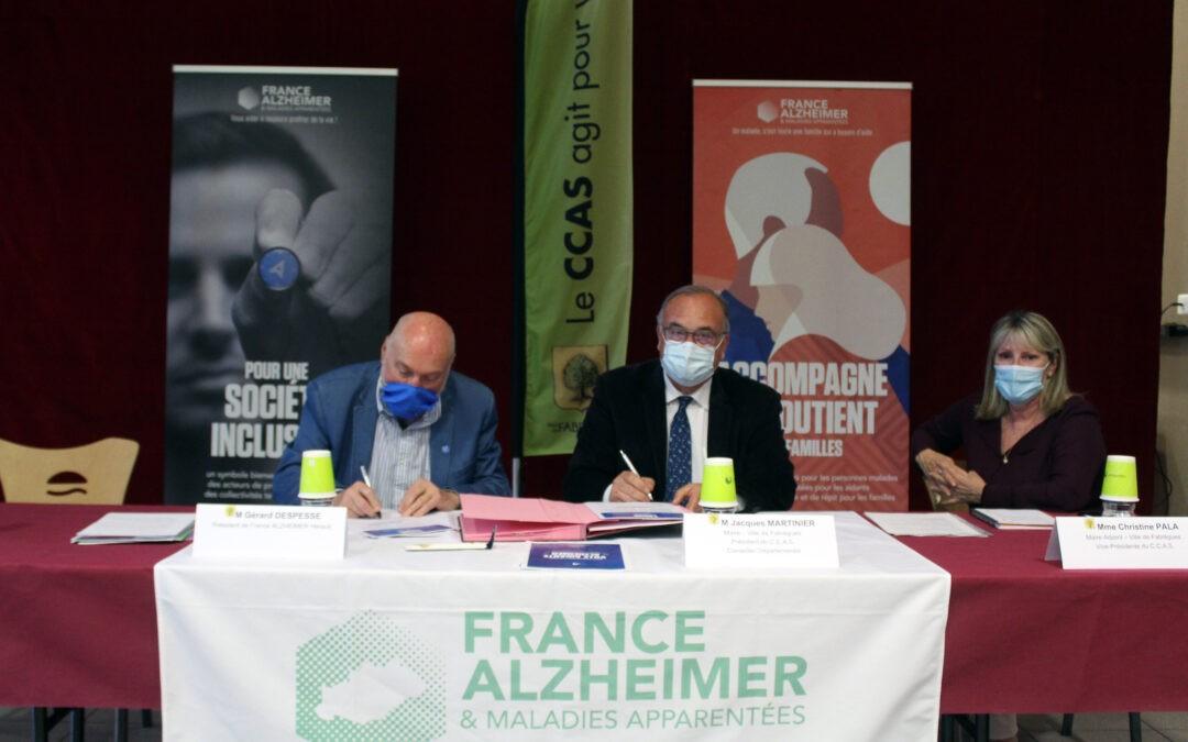 Fabrègues rejoint le réseau national France Alzheimer et devient la 5ème « Ville Aidante Alzheimer » de l'Hérault et 1ère de Montpellier Méditerranée Métropole