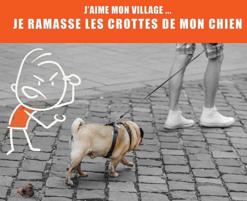 Respectons notre village … halte aux incivilités !