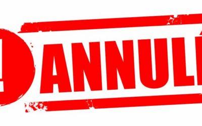 Fête votive des 23, 24 et 25 juillet et Estivales du 27 juillet 2021 annulées